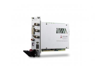 凌华科技发表首款PXI Express接口视频/音频采集卡