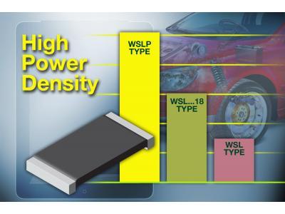 Vishay推出新款Power Metal Strip电阻WSLP2010