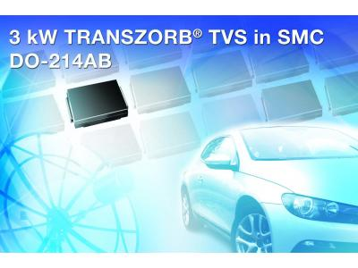 Vishay推出TRANSZORB双向TVS SMC3K