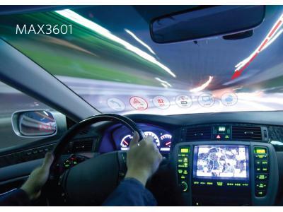 Maxim推出8位RGB激光器驱动器MAX3601 面向汽车投影仪