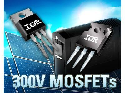 IR推出具有基准导通电阻的全新300V功率MOSFET