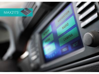 Maxim Integrated推出DAB接收机方案MAX2173