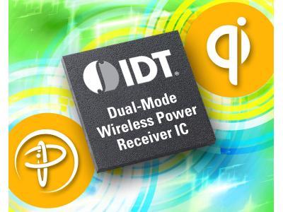 IDT推出IDTP9021首款兼容WPC和PMA标准的双模无线电源接收器IC