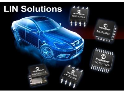 Microchip推出全新收发器、系统基础芯片和系统级封装器