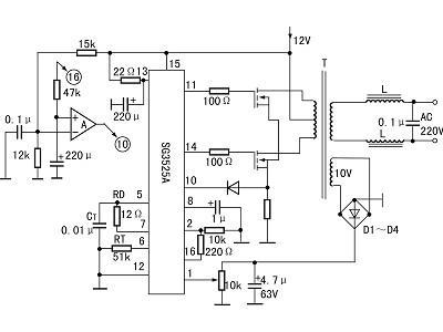 一款功率稳压逆变电源的设计与制作