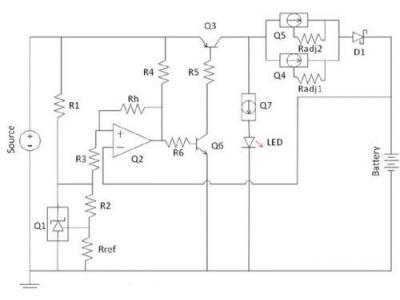 一种针对于充电电池的低成本CCR充电解决方案