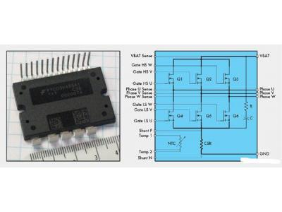高集成汽车功率模块改进汽车电气化设计