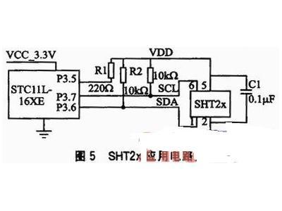 高精度温湿度传感器SHT2x的应用