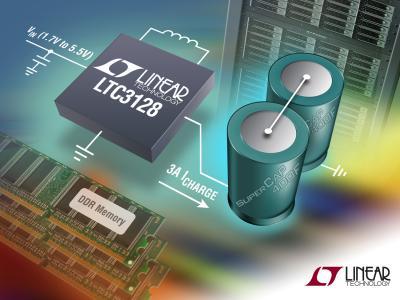 凌力尔特推出降压-升压型超级电容器充电器 LTC3128
