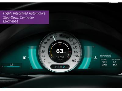 Maxim Integrated推出高集成度电源管理IC (PMIC) MAX16993