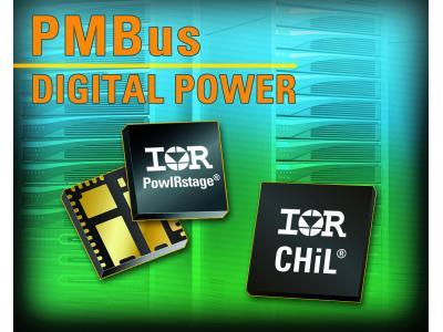IR推出IR CHiL数字脉冲宽度调制控制器系列和集成式PowIRstage解决方案