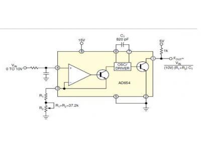 增加RC压控振荡器的频率区间