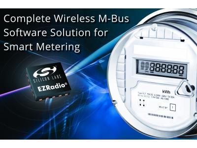 Silicon Labs无线M-Bus软件简化智能仪表设计