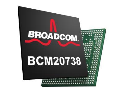 博通宣布为外围设备推出Bluetooth Smart芯片BCM20738