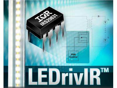 IR推出高度集成的IRS29831 LEDrivIR控制IC