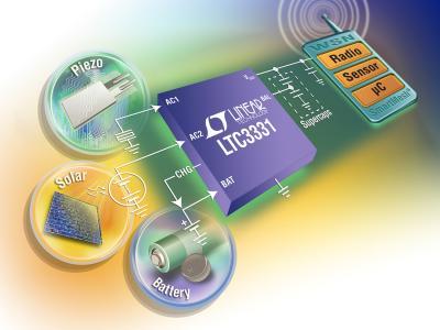凌力尔特推出完整的能量收集解决方案LTC3331