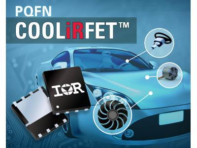 IR AUIRFN8403以紧凑5x6mm PQFN封装提供高效率和高功率密度并减少系统成本