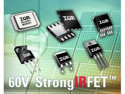 IR扩充60V StrongIRFET MOSFET系列