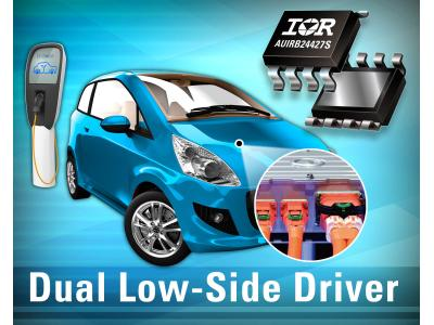 IR新推出坚固的车用双低侧驱动IC AUIRB24427S