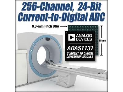 ADI推出面向CT扫描仪的数字转换器ADAS113