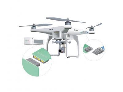 Molex为高增长的无人机行业提供全系列先进解决方案产品组合