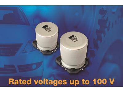 Vishay扩展汽车级SMD铝电容器的电压范围