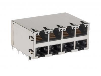 Molex 首推 2X2 PoE 2.5 GbE 多端口磁性模块化插座