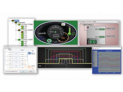 紧凑的 PCB 面积内也可实现高功率的数字控制与遥测功能