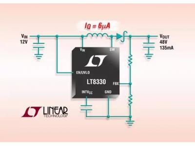 ADI发布单片升压 / SEPIC / 负输出转换器系列之首款器件LT8330