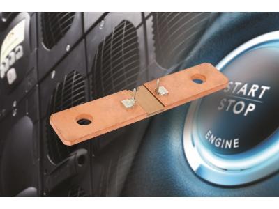 Vishay 发布新的Power Metal Strip电池分流器---WSBS8518...20