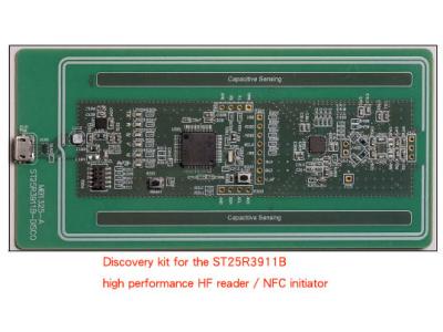 大联大友尚集团推出的ST NFC阅读器芯片和探索套件