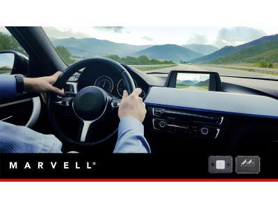 Marvell推出业界首款安全功能的汽车级千兆以太网交换机