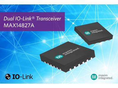 Maxim双通道收发器已被Omron采纳用于IO-Link传感器