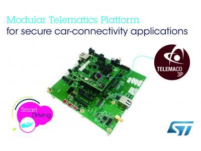 意法半导体(ST)发布安全车联网应用开放式开发平台