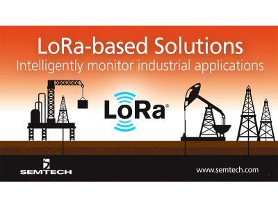 研华科技利用Semtech的LoRa技术提供创新物联网解决方案