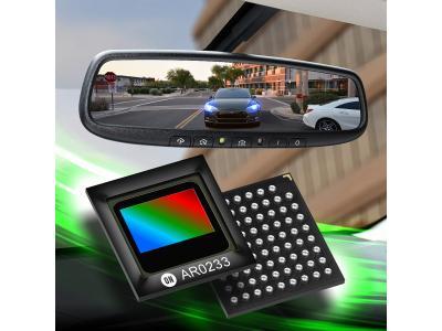 安森美半导体推出全球首款极高扩展性的下一代汽车图像传感器系列