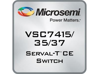 美高森美发布全新Serval-T以太网交换器件产品系列  在单一器件中实现纳秒精度的1588解决方案