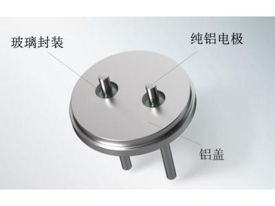 超级/双电层电容的新型玻璃-金属密封盖板技术解决方案