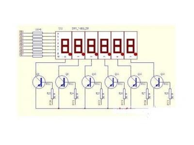嵌入式中共阴极、共阳极数码管的区别及驱动原理