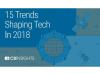 CB Insights 2018年15大科技趋势的最新预测