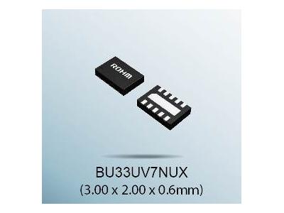 "ROHM开发出能使干电池续航时间延长1.3倍的升压型DC/DC转换器""BU33UV7NUX"""