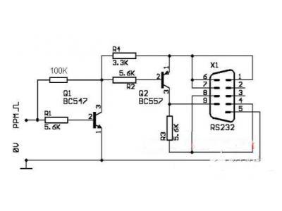 六大常见串口接口电路,9针串行PIC接口/25针串行PIC接口你知道几个?