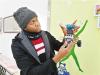 非洲留学生唐纳德参与设计组装仿生机器人