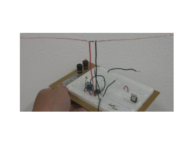 E起动手 | 简易电磁波接收器,玩的就是花样