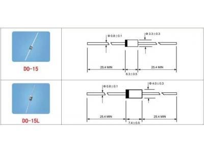 二极管、三极管、MOS管,那些常用封装尺寸图