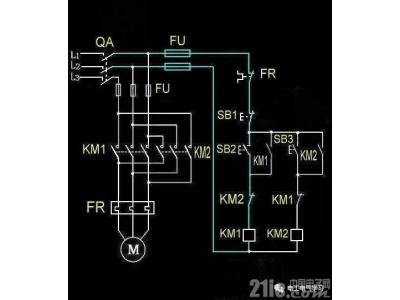 电工入门的基础电路原理图普及篇