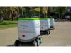 无人驾驶机器人驶进大学校园,从此零食全靠它?