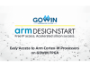 高云半导体与ARM公司展开深度合作,通过DesignStart计划为其客户提供免费的Cortex-M处理器软核