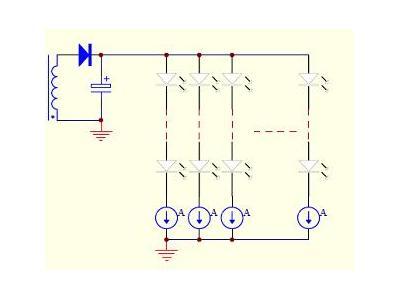 分布式恒流架构的LED驱动原理