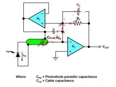 一种能够远程光传感系统的电路